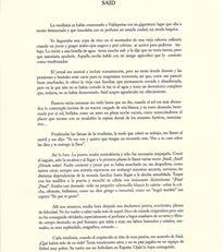 """Poema homoerótico:""""Said"""", del poemario de J.Brotóns:""""Adiós, muchachos"""", Colección El Café de papel, Valdepeñas,2005."""