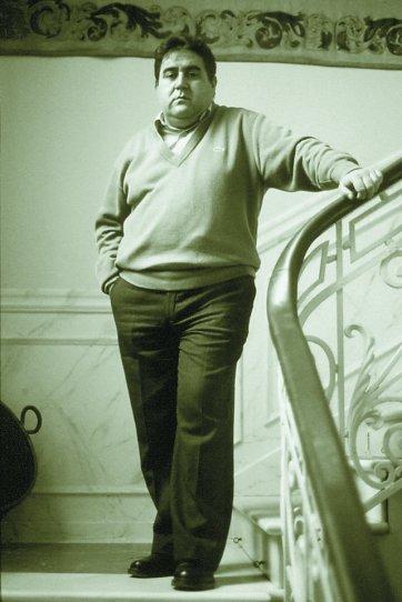 Fotografía de Joaquín Brotóns, en 1993. Foto: Miguel Ángel Sánchez, fotógrafo amigo y personaje bohemio en aquella época dorada...