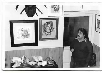 Joaquín Brotóns, en casa de sus padres, en Valdepeñas (Castilla-La Mancha). Foto: Navarrete, 1980.