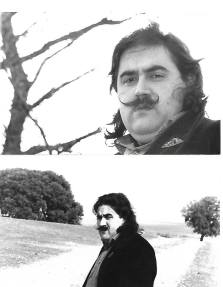 Dos fotos de Joaquín Brotons Peñasco, correspondiente al reportaje que le hizo su amigo, José Luis Campos, en 1981.